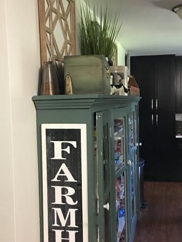 $10 FARMHOUSE sign from Hobby Lobby🌿